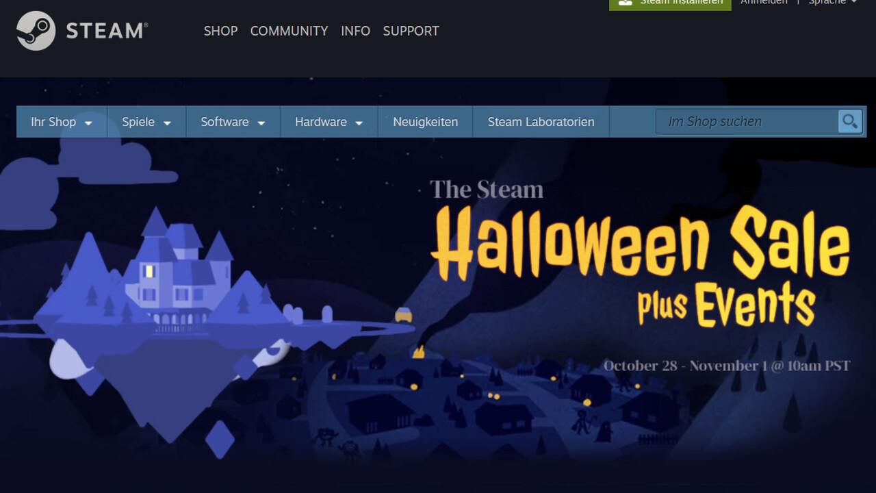 Spieleangebote: Auch bei Steam ist der Halloween Sale gestartet