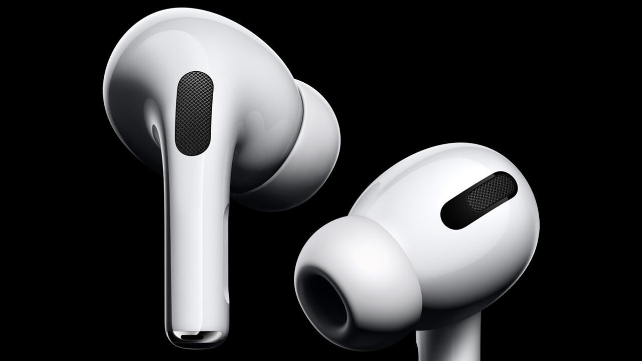 In-Ear-Kopfhörer: Apple AirPods Pro mit ANC starten für 279Euro