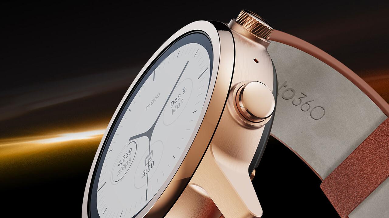 Moto 360: Motorola legt Smartwatch mit aktueller Hardware neu auf