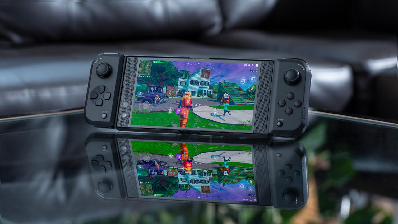 Razer Junglecat: Smartphone-Controller erinnert an Nintendo Switch
