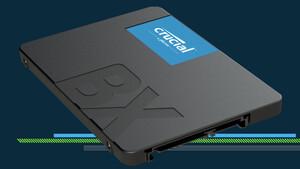 SATA-SSDs: Crucial BX500 bietet jetzt bis zu 2 TB Speicherplatz