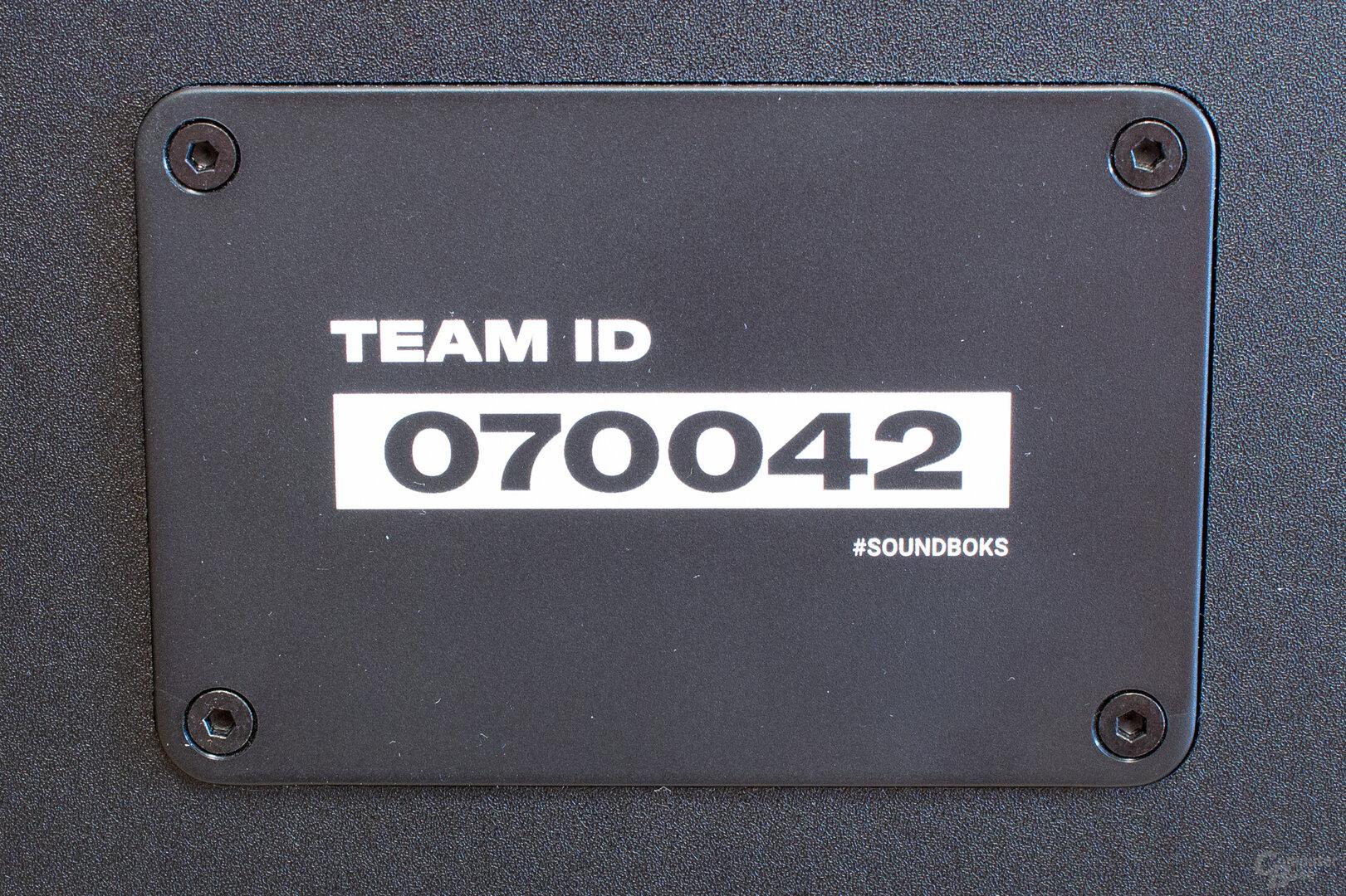 Jeder Lautsprecher besitzt seine eigene ID