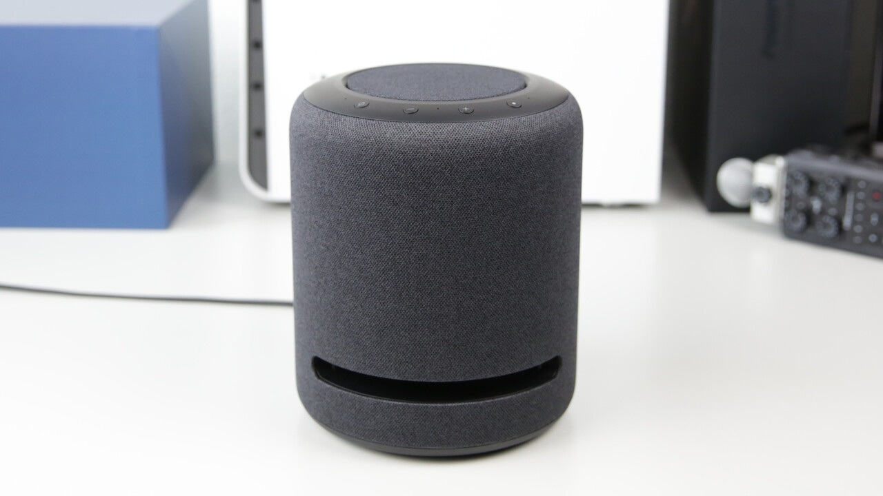Amazon Echo Studio im Test: 3D-Audio kann man nicht mehr ungehört machen
