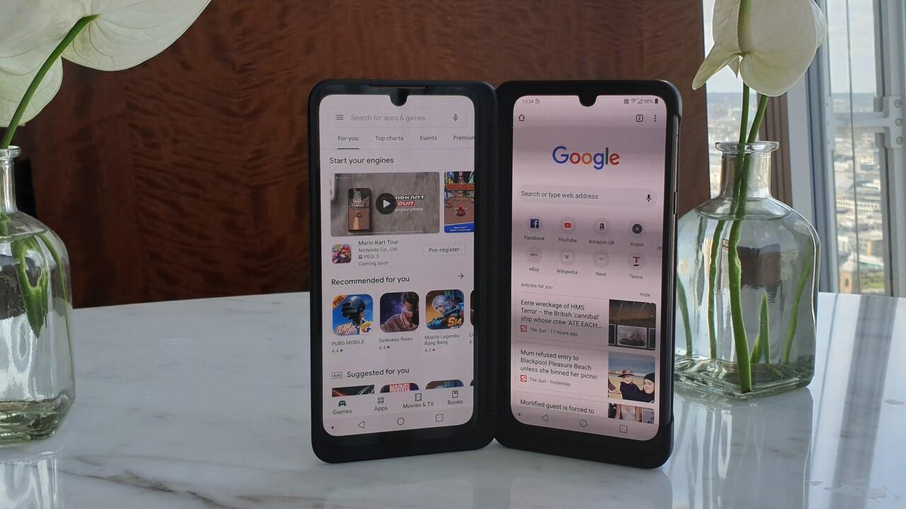 Verfügbarkeit: LG G8X ThinQ Dual Screen startet morgen für 949 Euro