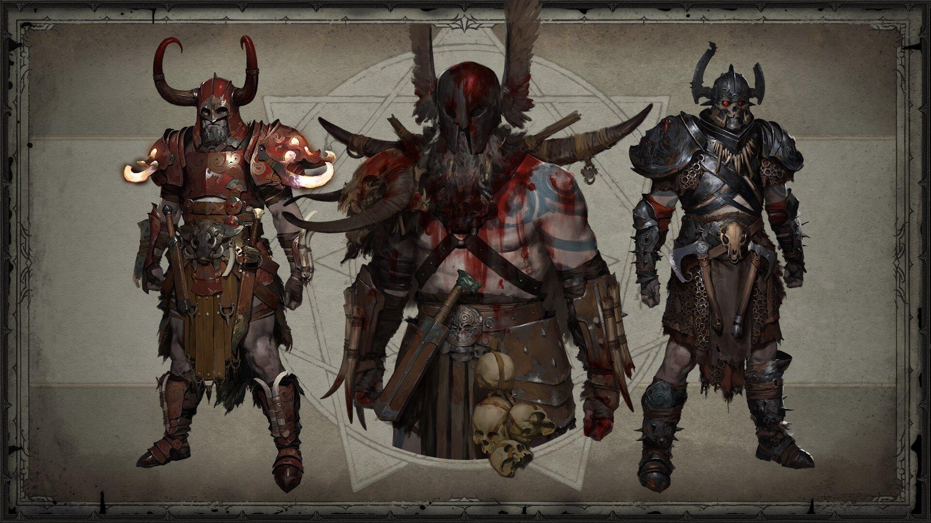 Barbar Legendaries (Concept Art)