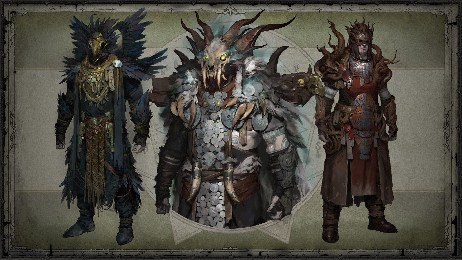 Druide Legendaries (Concept Art)