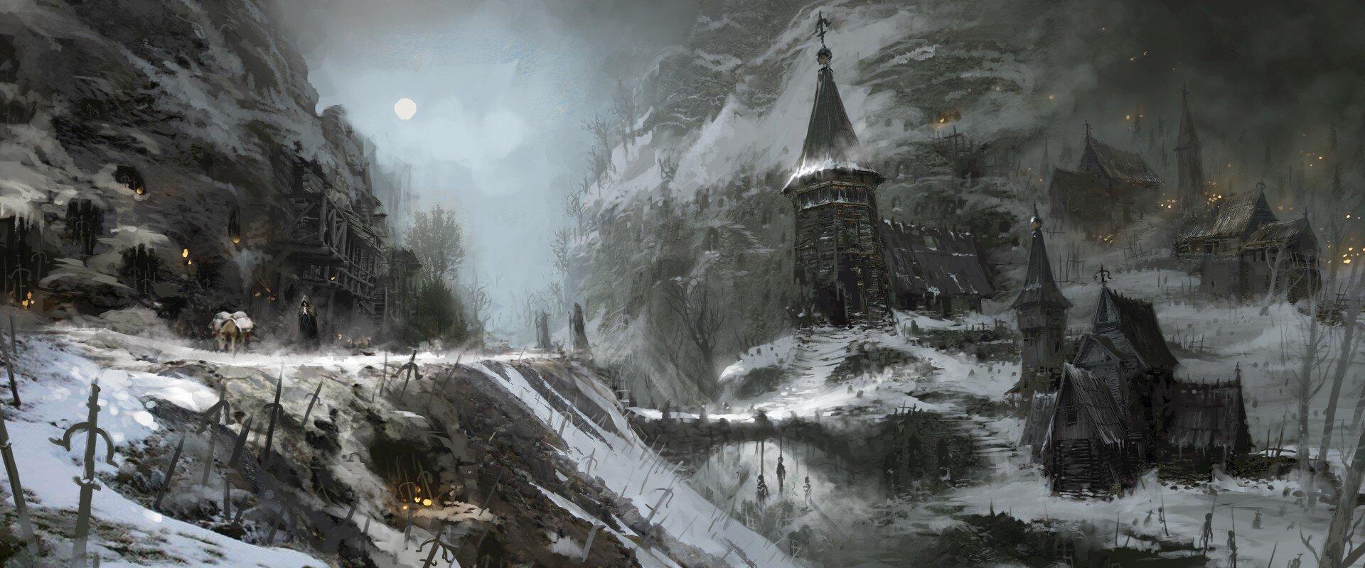 Fractured Peaks (Concept Art)