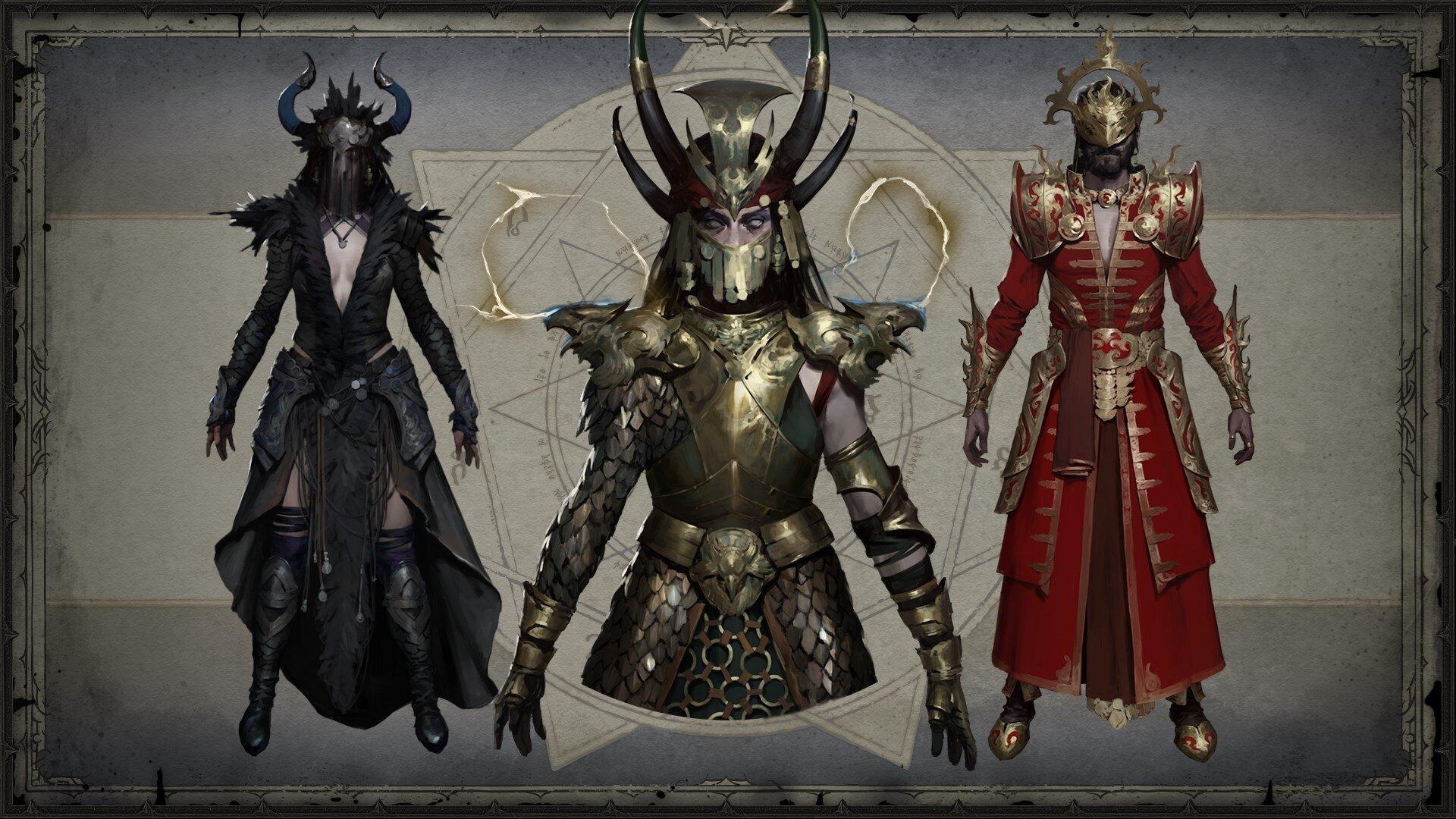Zauberin Legendaries (Concept Art)