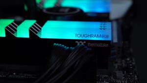 Toughram RGB: RGB-RAM von Thermaltake ab sofort bis DDR4-4400