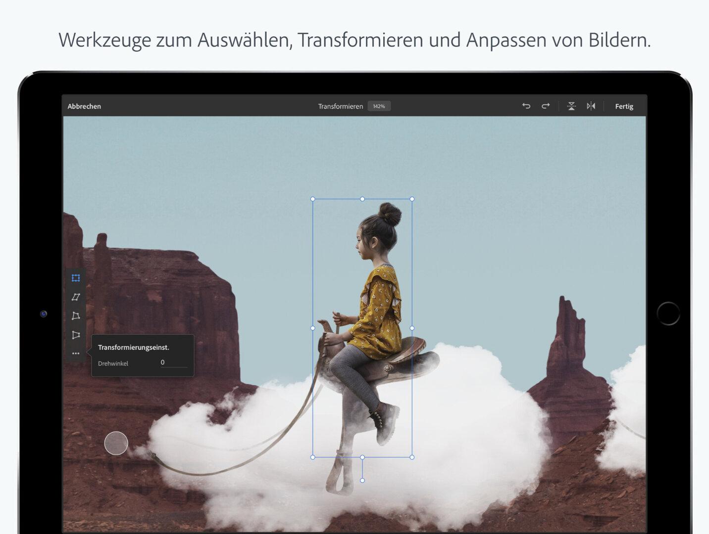 Photoshop für iPad