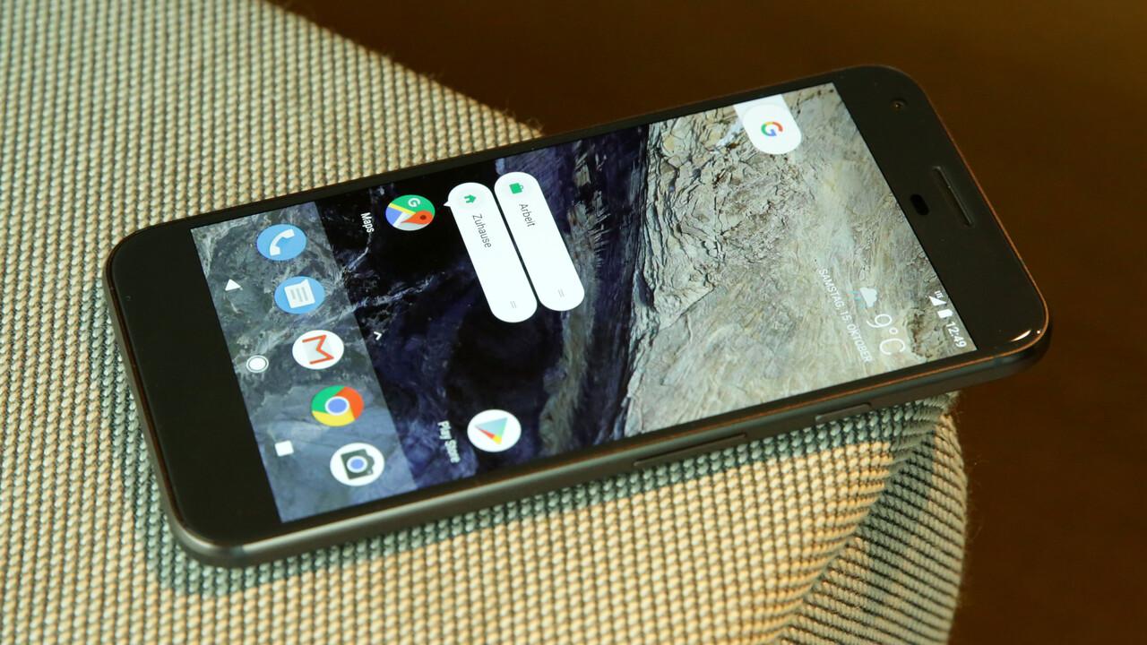 Google-Smartphone: Das erste Pixel erhält im Dezember ein letztes Update