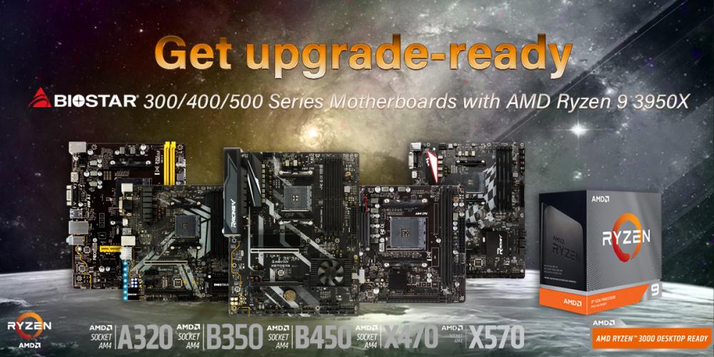 Biostar macht sein gesamtes Portfolio startklar für den AMD Ryzen 9 3950X