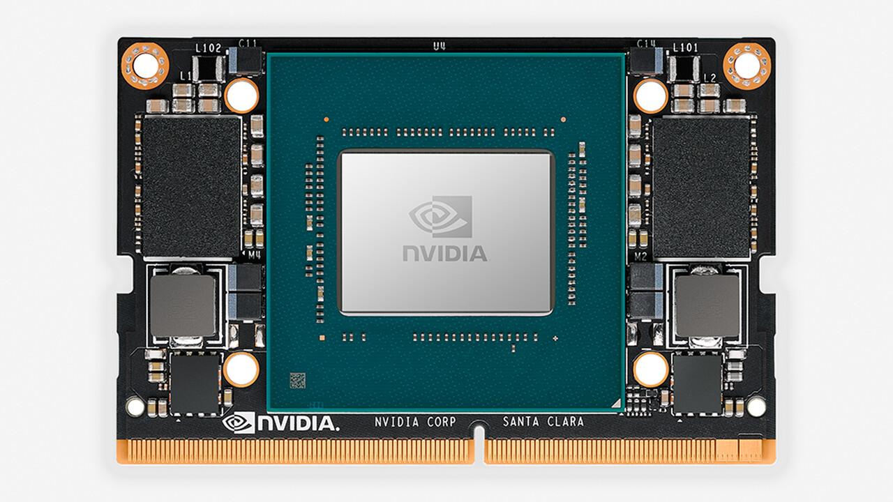 Nvidia Jetson Xavier NX: AI-Computer mit Xavier-SoC kommt in Kreditkartengröße