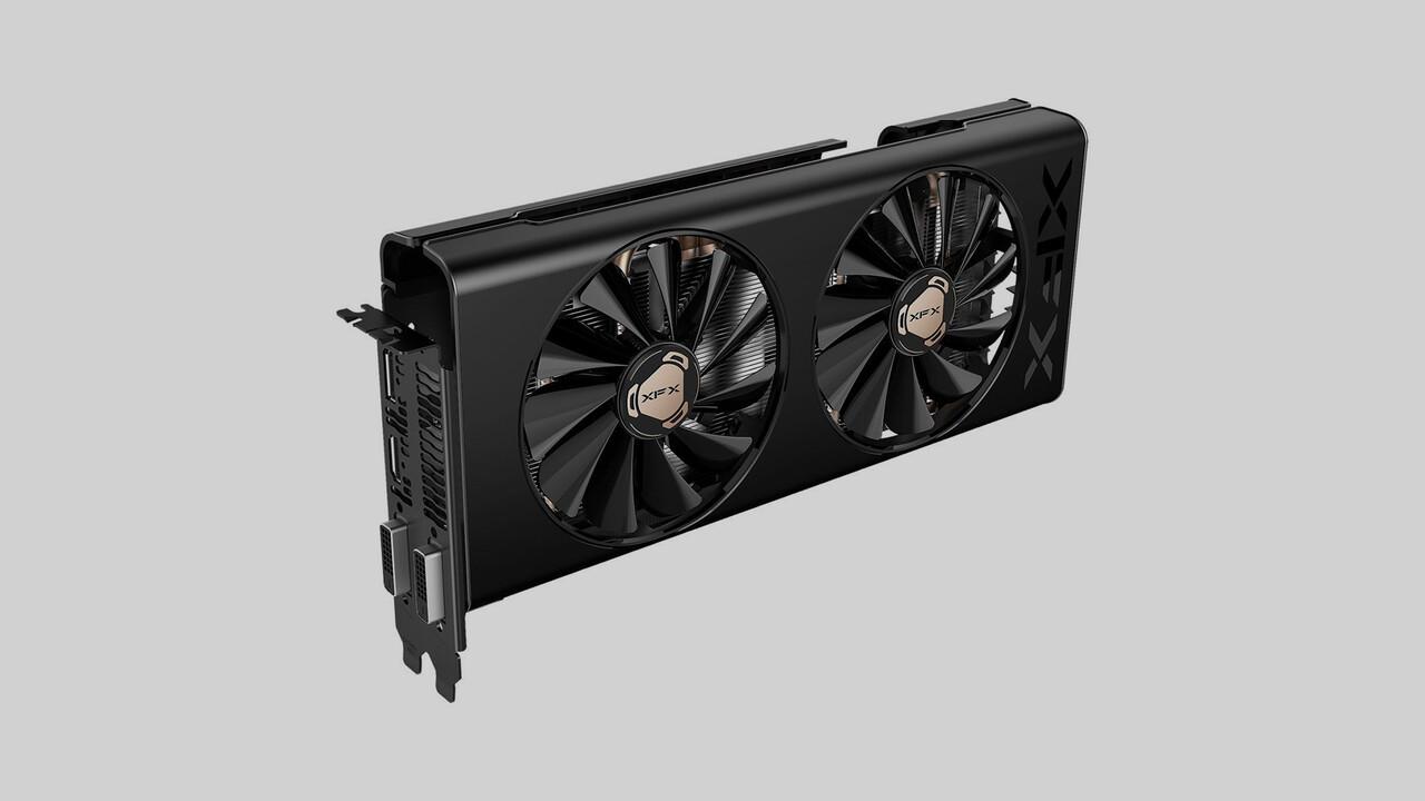 """AMD Radeon RX 580: XFX legt Polaris im """"THICC-Design"""" neu auf"""