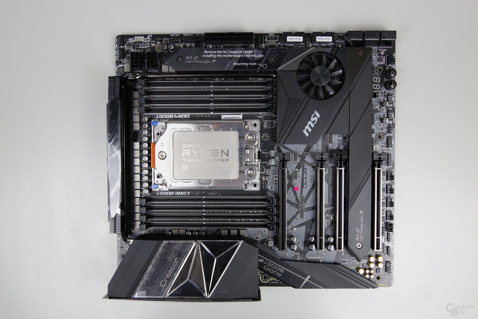 Das MSI Creator TRX40 wird über 700 Euro kosten