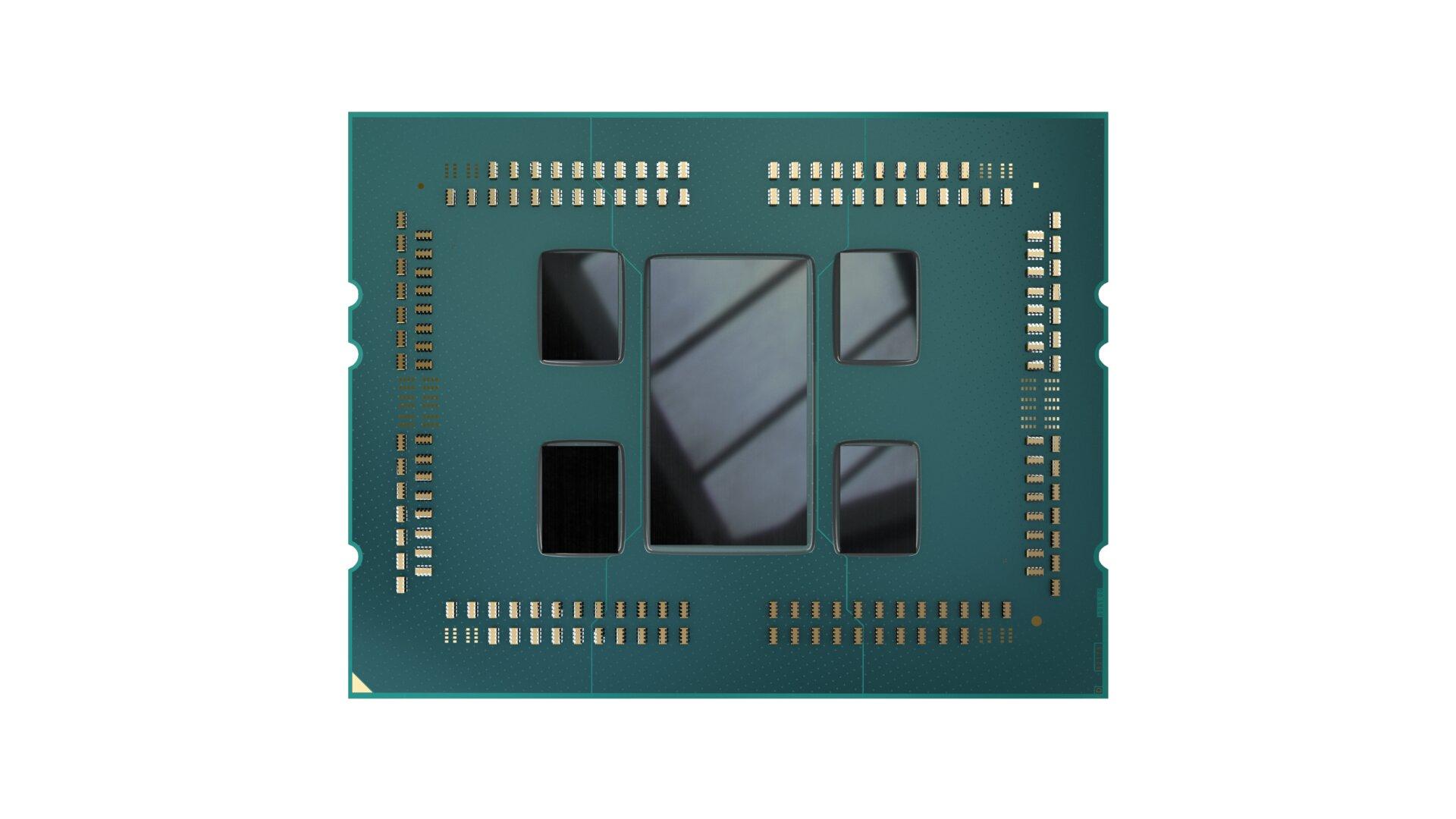 Ein Threadripper 3000 besteht aktuell aus fünf Chips