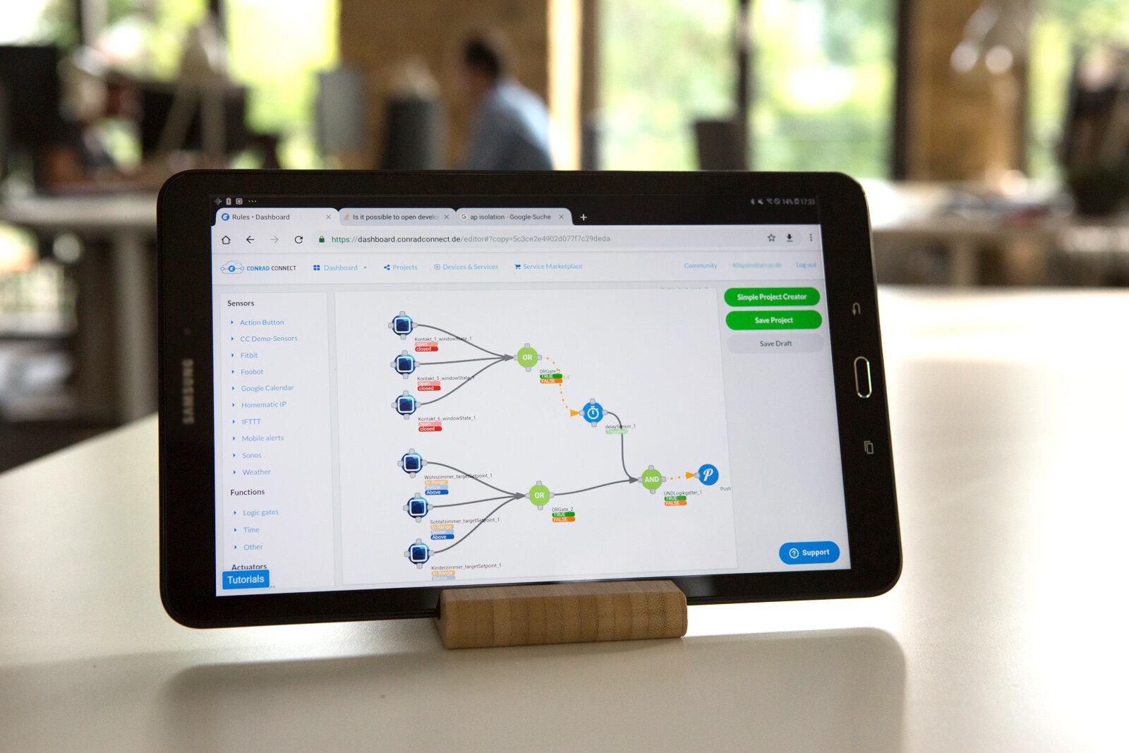 Projekte in Conrad Connect