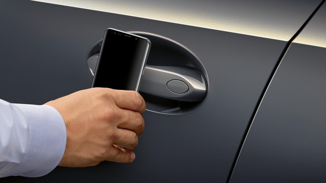 Digital Key: BMW setzt auf Ultra-Breitband für Smartphone-Autoschlüssel