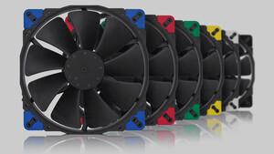 chromax.black: Noctua präsentiert fünf schwarze Lüfter bis 200mm