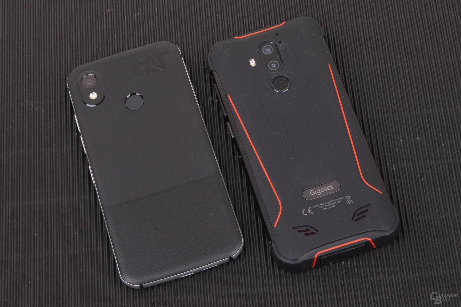 Cat S52 und Gigaset GX290