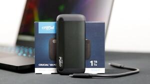 Crucial X8 Portable im Test: Die günstige, schnelle, externe 1-TB-SSD