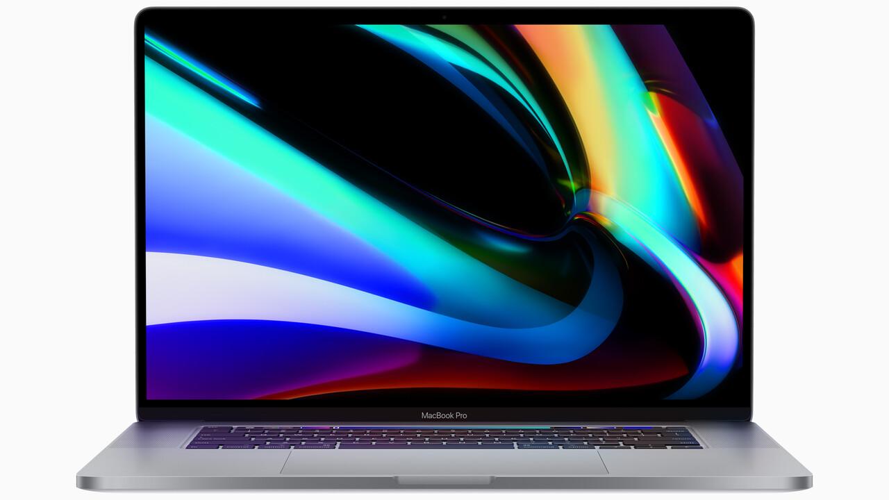 Apple MacBook Pro 16Zoll: Größeres Display trifft auf neue Tastatur und AMD Navi