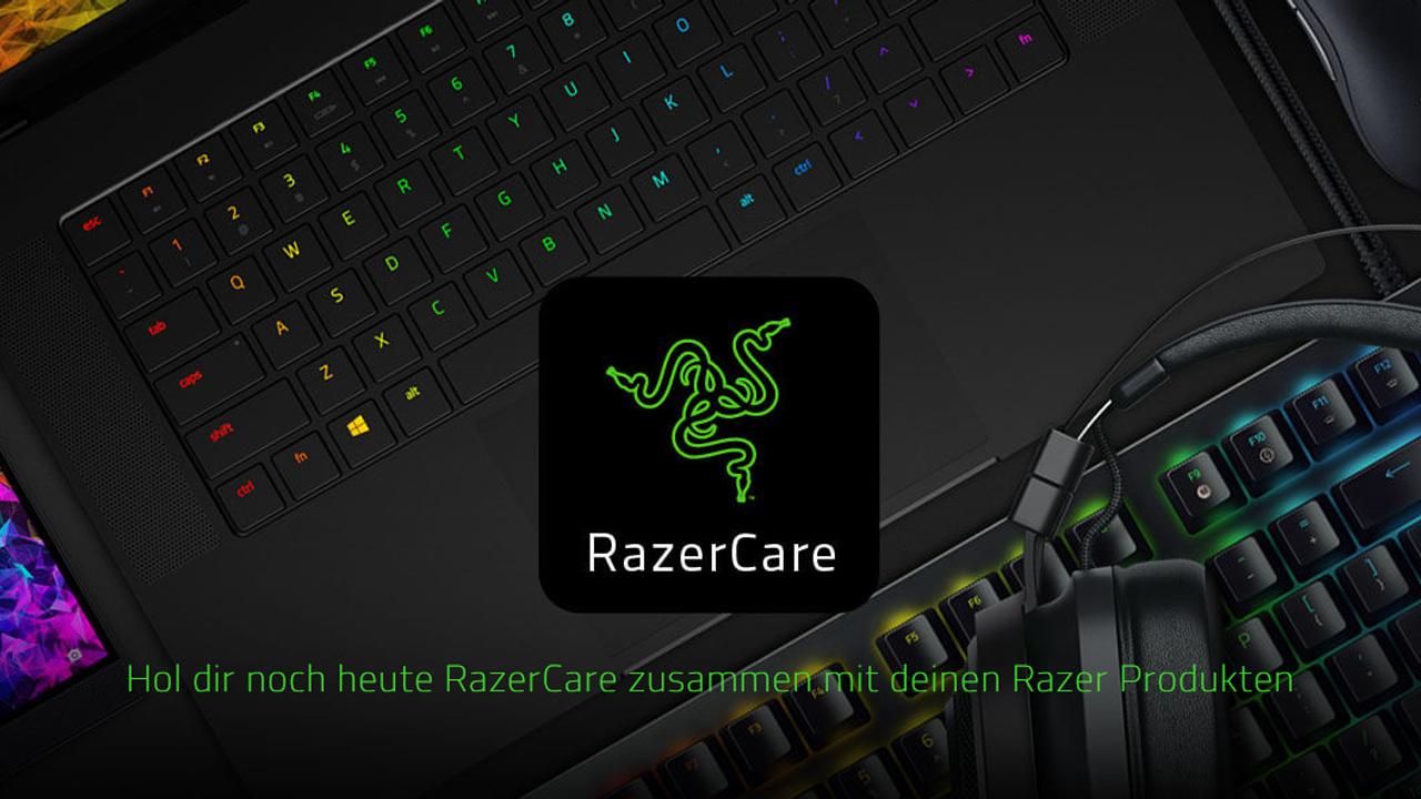 Der RazerCare Protection Plan schützt Razer-Geräte ab Tag 1 für bis zu 3 Jahre