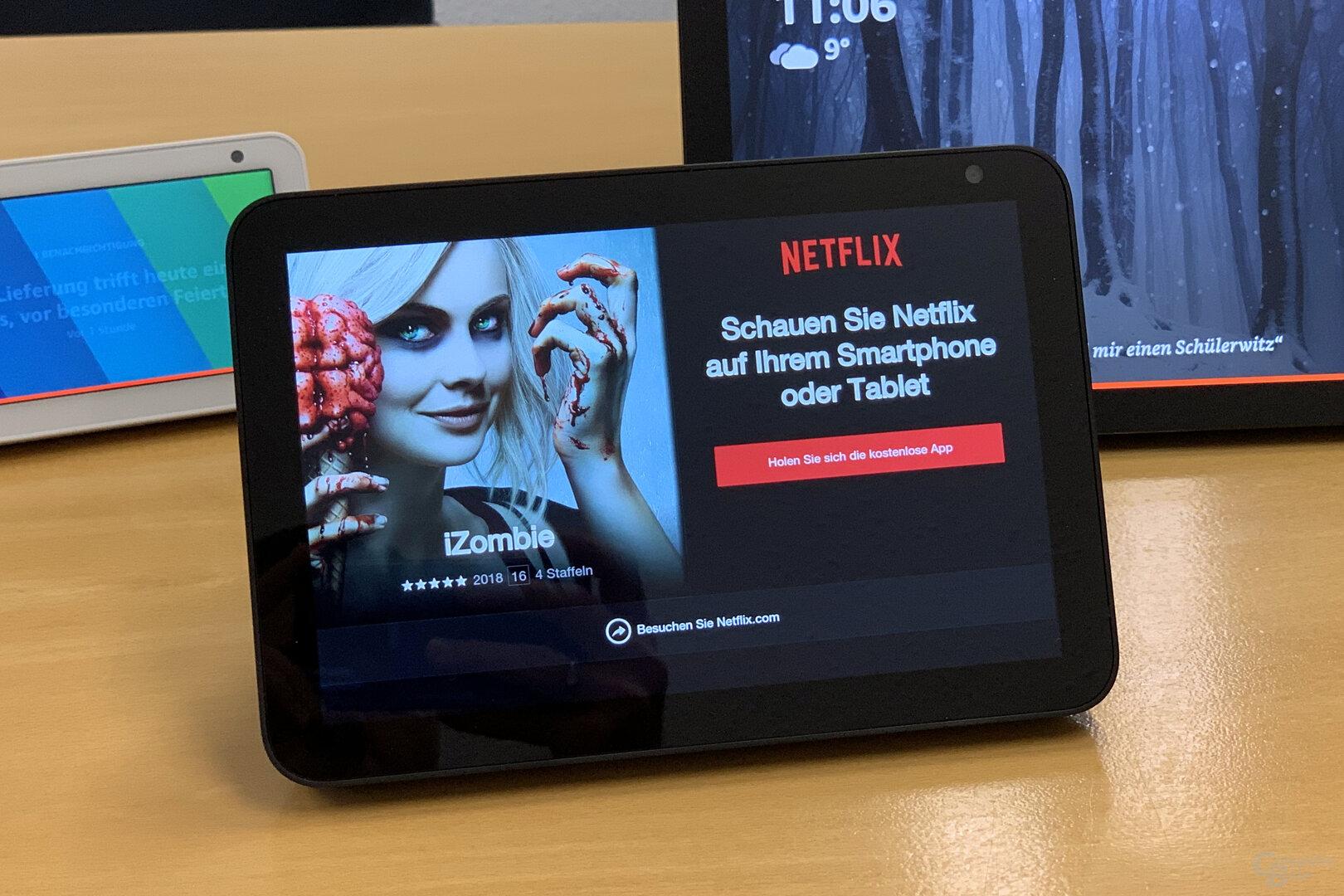 Amazon Echo Show 8: Netflix funktioniert nicht