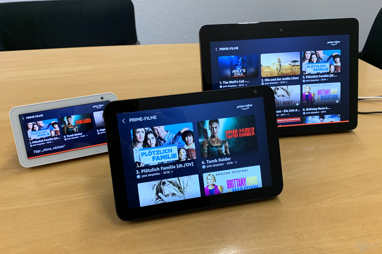 Amazon Echo Show 8: Prime Video ohne Probleme