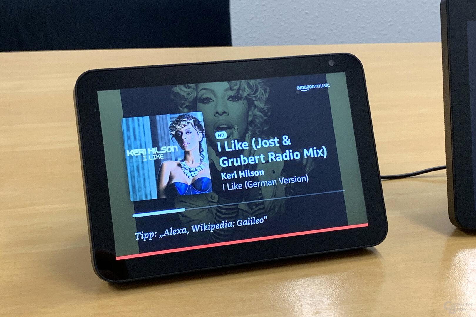 Amazon Echo Show 8: Amazon Music HD