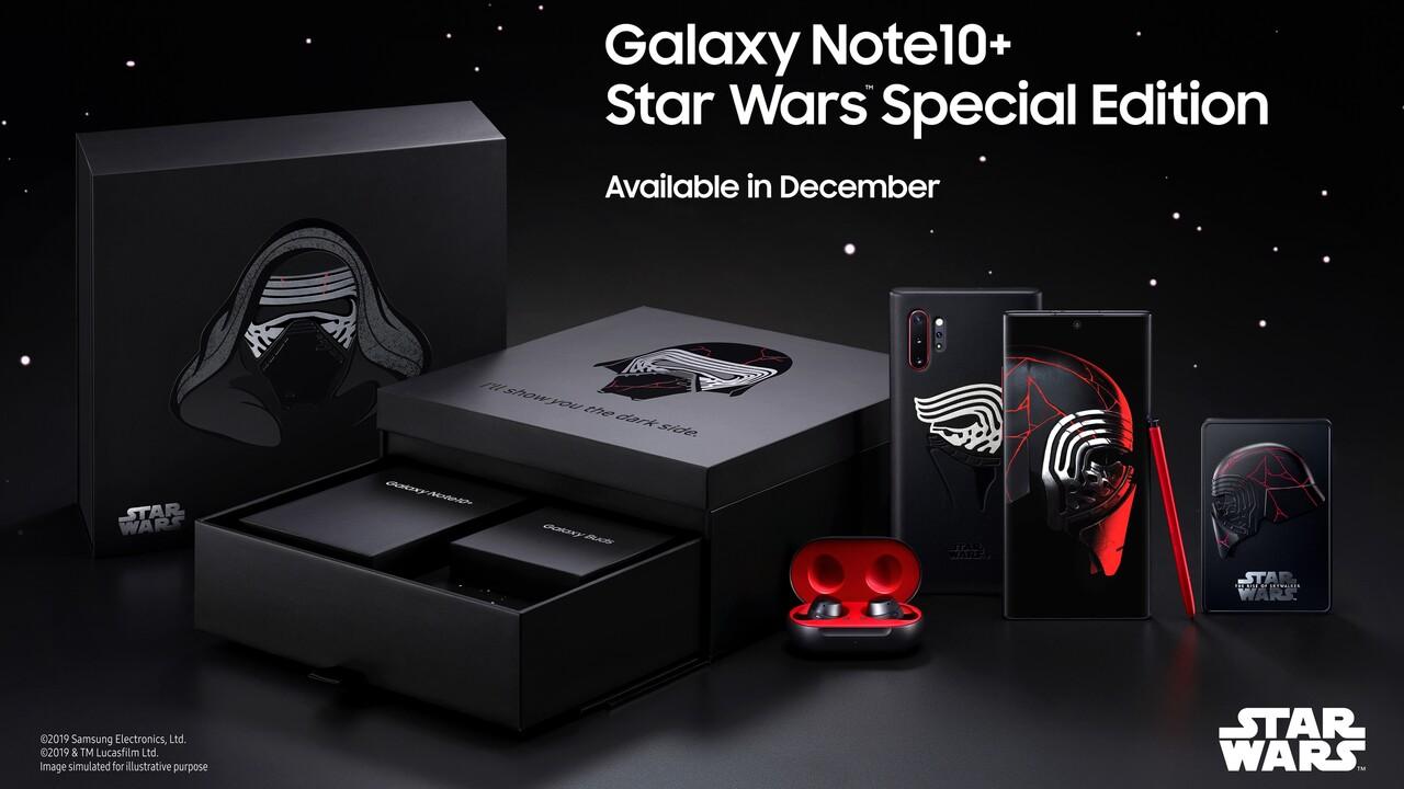 Samsung Galaxy Note 10+: Star Wars Special Edition ab Dezember für 1.300Euro