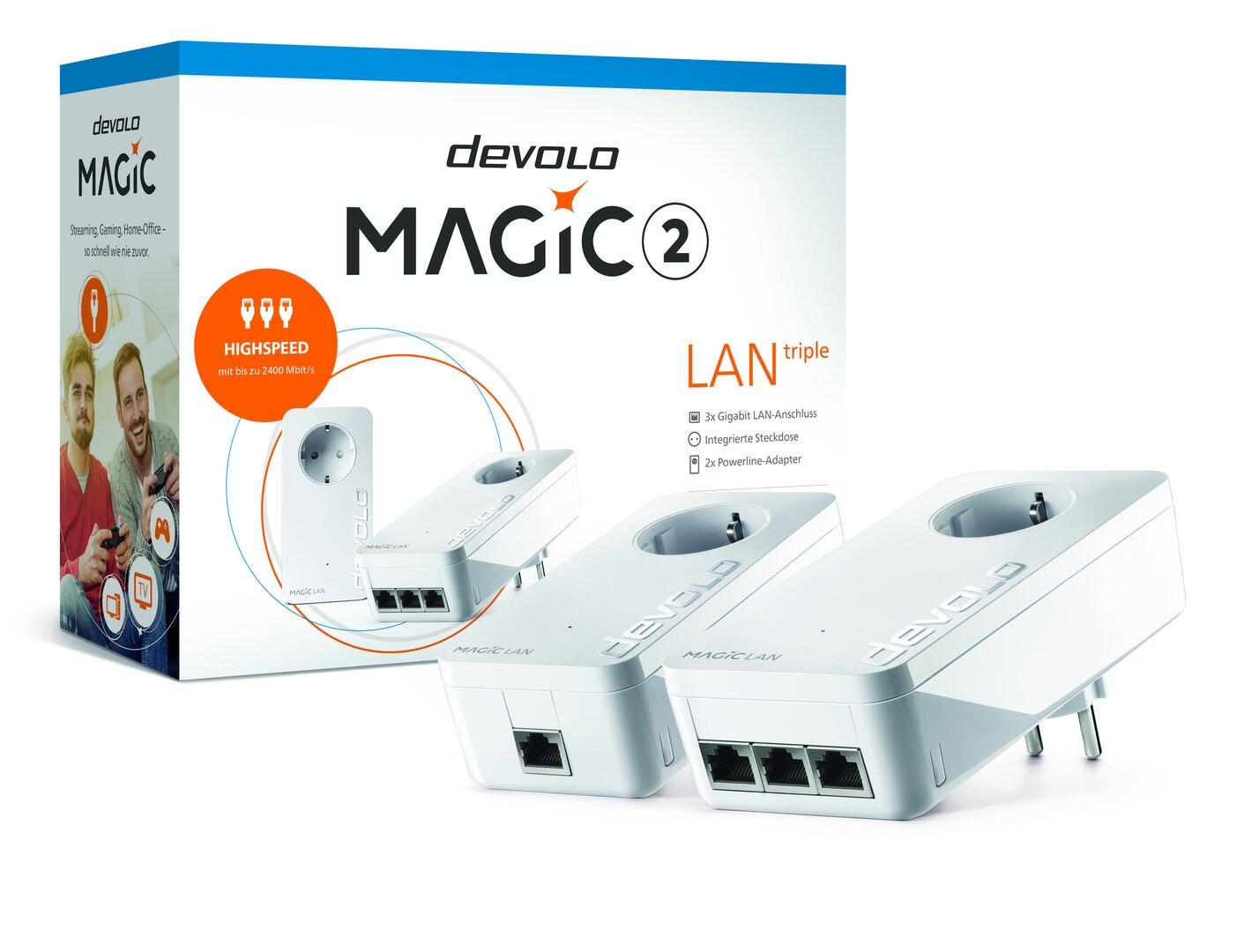 Devolo Magic 2 LAN triple Starter-Kit