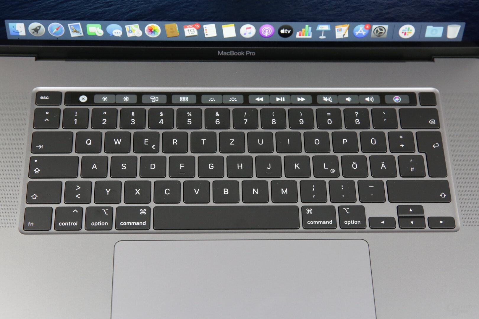 Neue Tastatur mit bewährter Mechanik