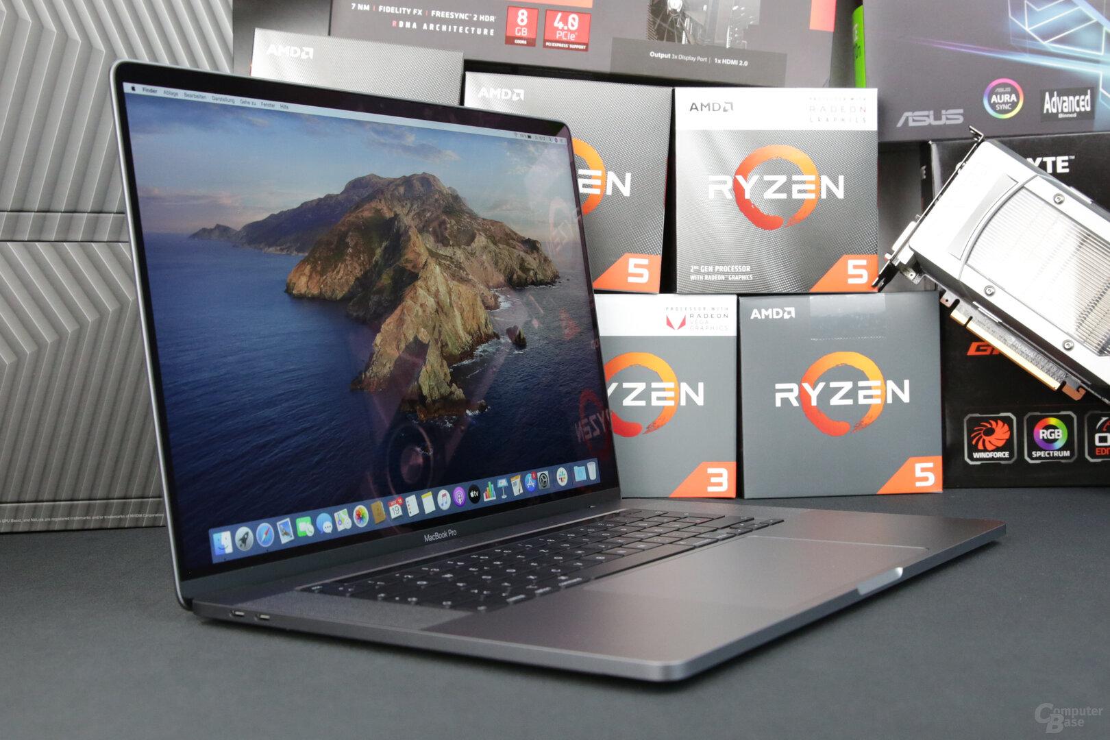 Apple MacBook Pro 16 Zoll im Test