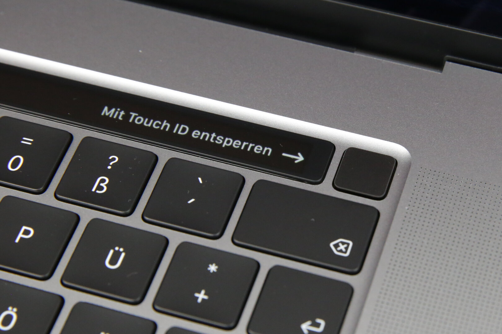 Touch ID und Power-Button in einem