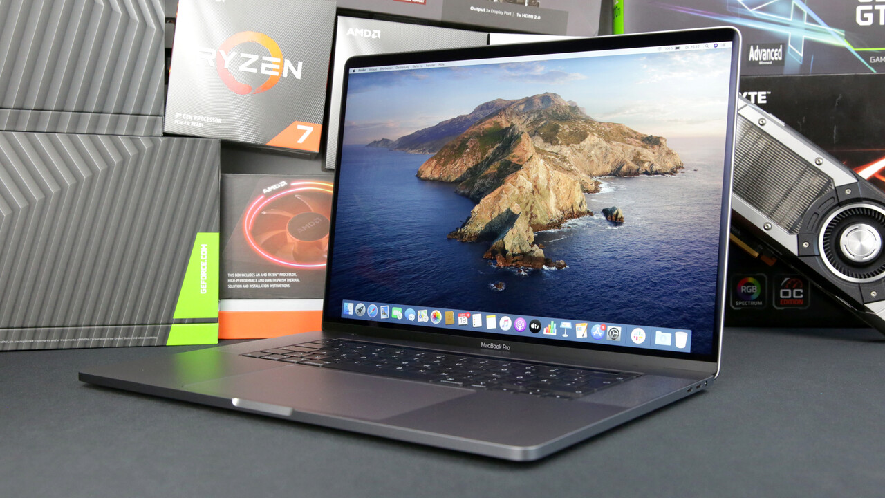 Apple Macbook Pro 16 Zoll Im Test Computerbase