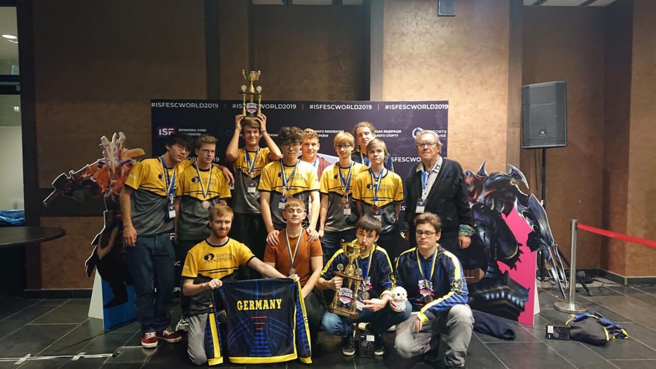 eSport-Schulmeisterschaft: Deutsche Schüler auf dem zweiten und dritten Platz