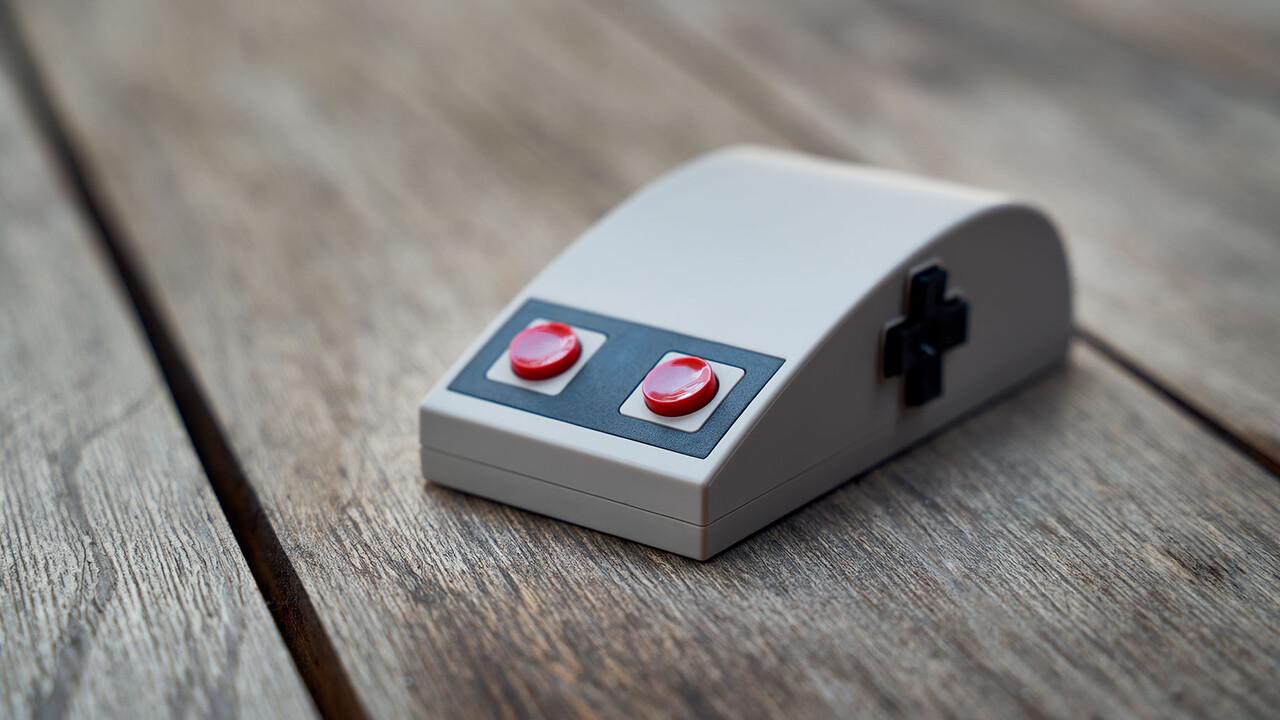 8BitDo N30 Wireless Mouse: Kabellose Retro-Maus erinnert an Nintendos NES