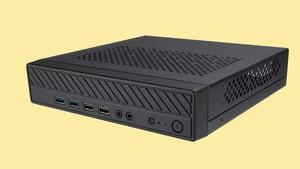 Thin-Mini-ITX-Gehäuse: Akasa Cypher MX3 ist bei 2Liter Volumen 45 mm flach