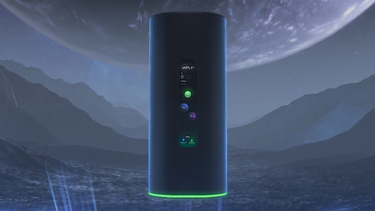 Ubiquiti AmpliFi Alien: Teurer Wi-Fi-6-Router mit Display und Mesh-Funktion