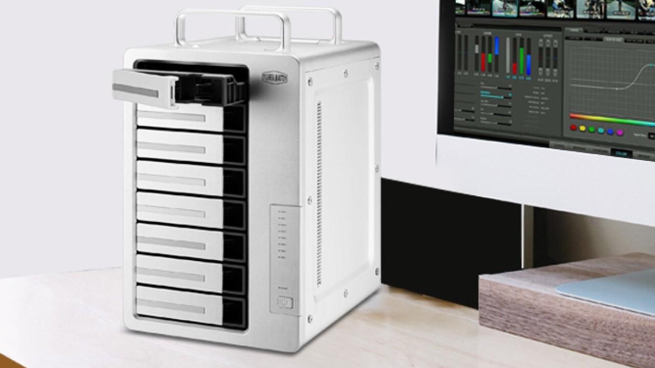 Speichererweiterung mit TB 3: TerraMaster D8 Thunderbolt 3 fasst 8 HDDs für bis zu 112 TB