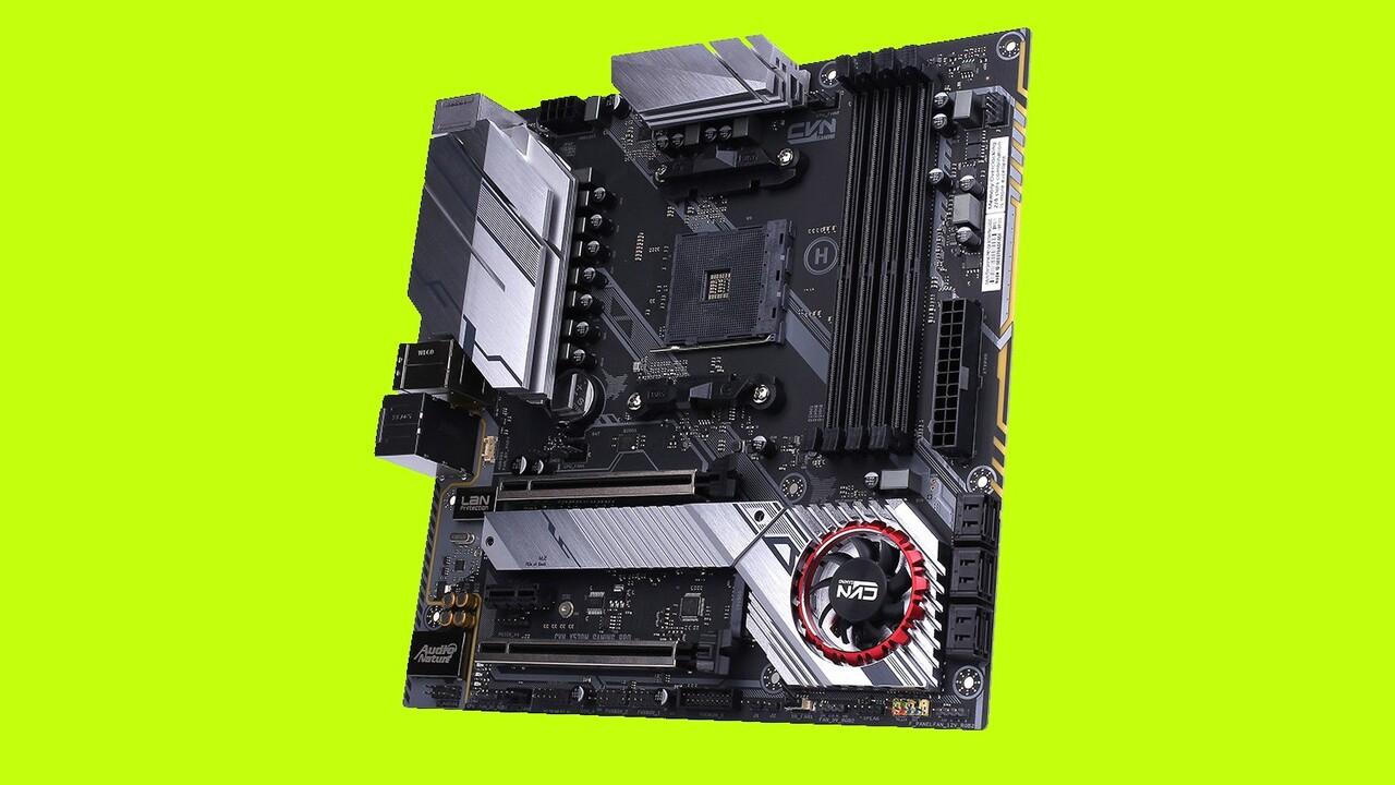 CVN X570M Gaming Pro: Colorful bringt seltene µATX-Platine mit X570-Chipsatz