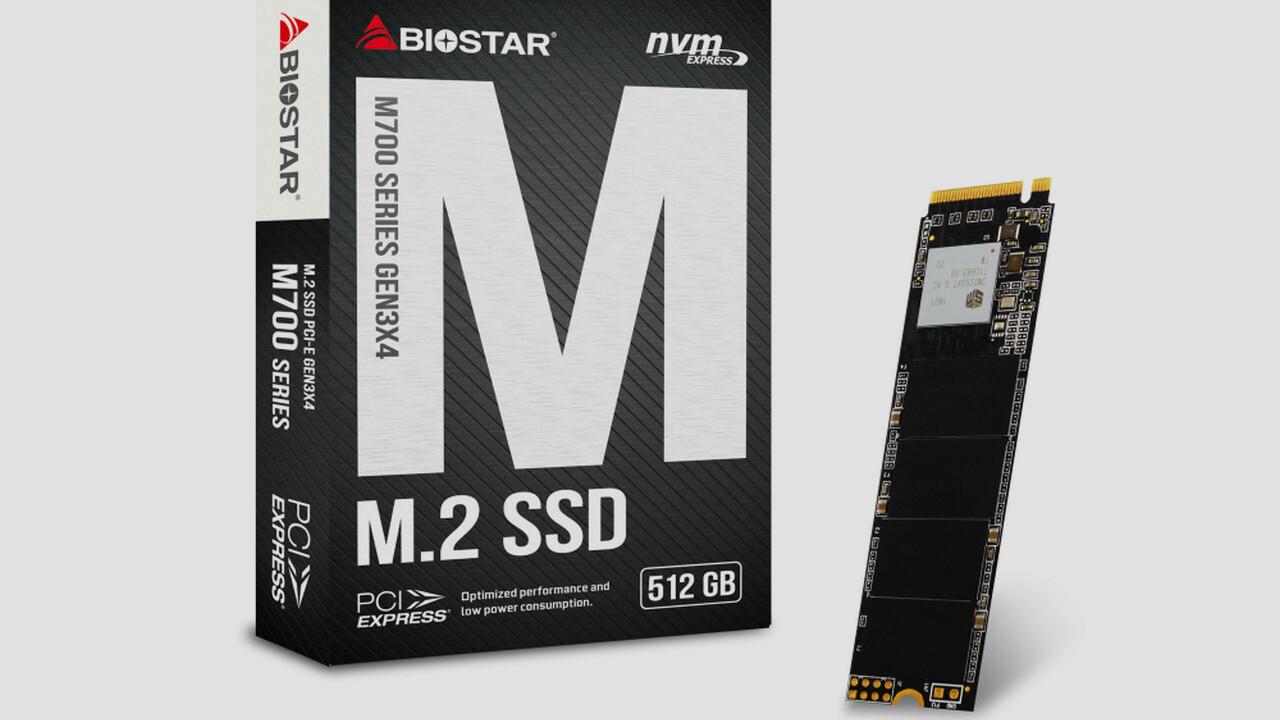 Biostar M700: M.2-PCIe-SSDs für den kleinen Geldbeutel