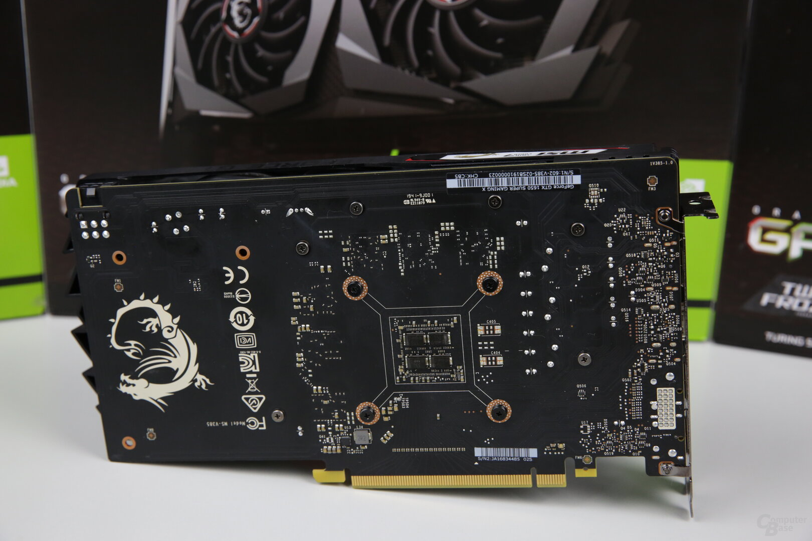 Die MSI GeForce GTX 1650 Super Gaming X