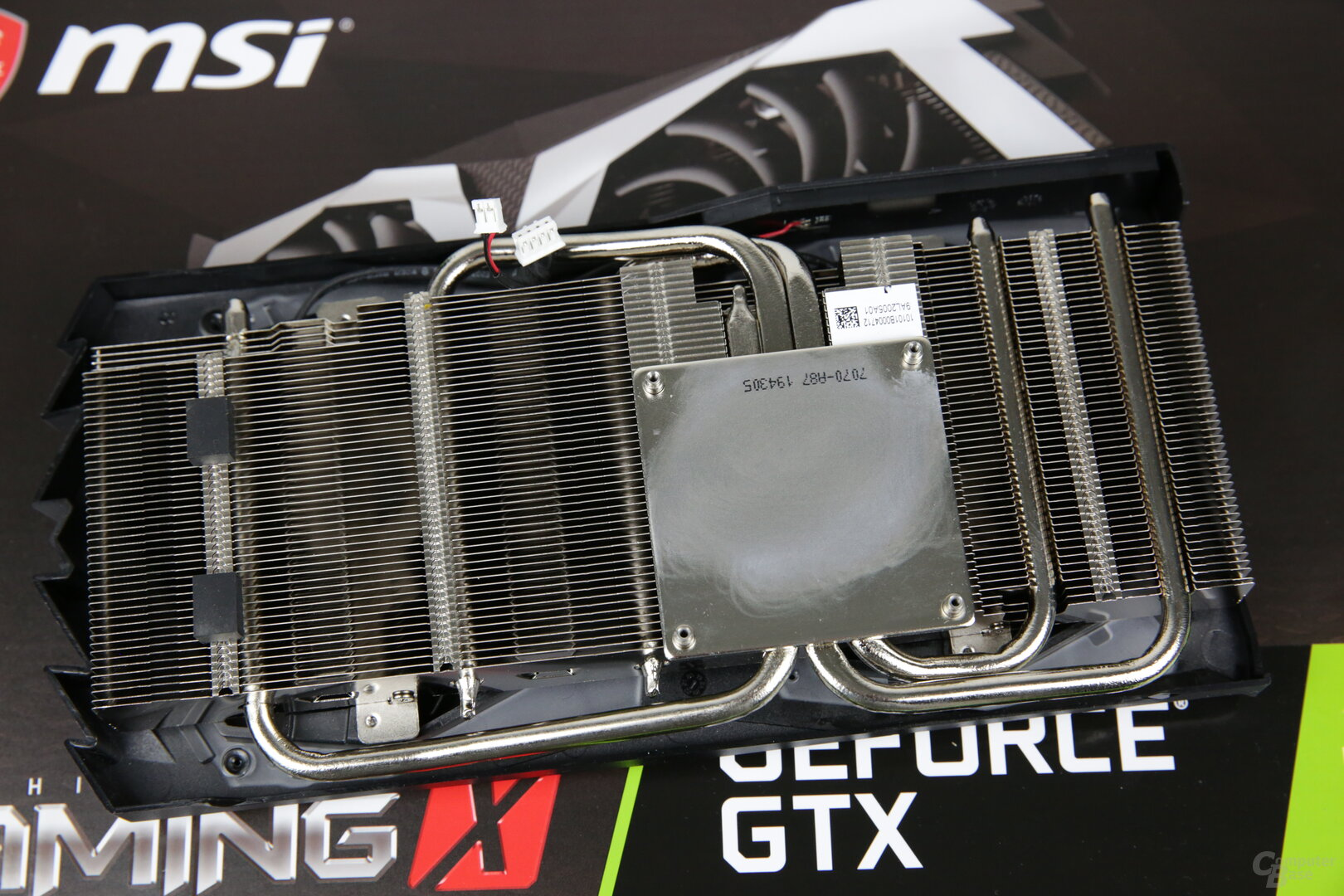 Der Kühler der MSI GeForce GTX 1650 Super Gaming X