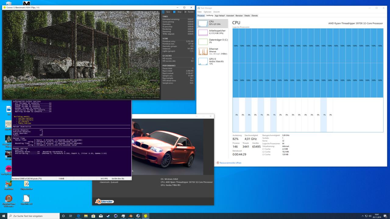 AMD Threadripper 3000: Multi-Threading mit 32Kernen auf die Spitze getrieben