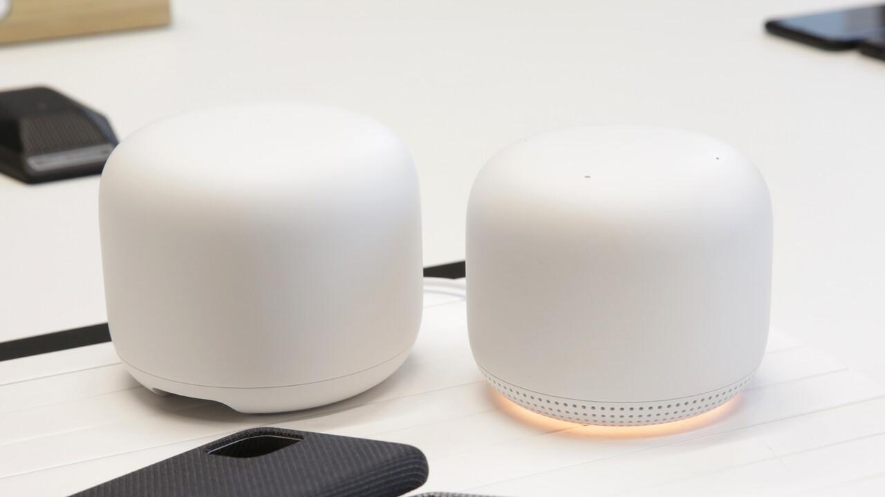 Google Nest WiFi im Test: Mesh-WLAN mit Google Assistant verzichtet auf LAN