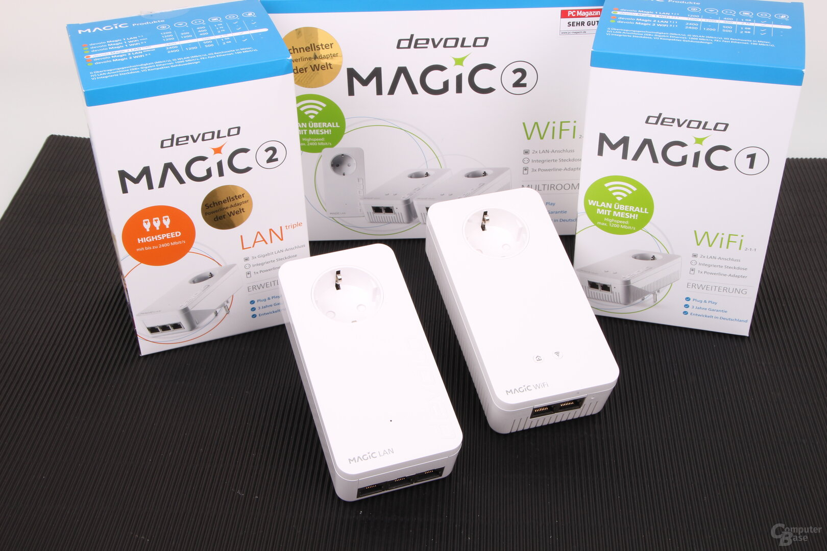 Devolo Magic 2 LAN triple und Magic 1 WiFi