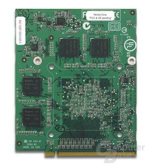 nVidia GeForce Go 6800 MXM