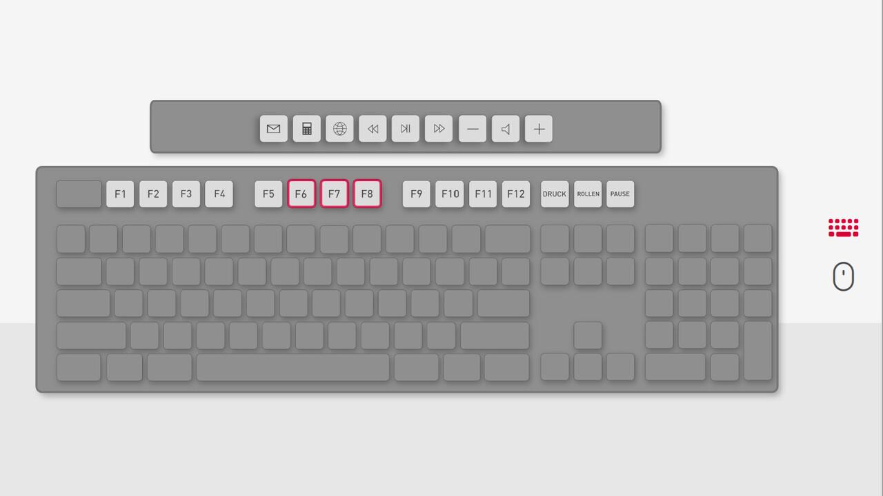 Cherry Keys: Software konfiguriert jede Maus und Tastatur